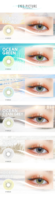 ocean series contact lenses