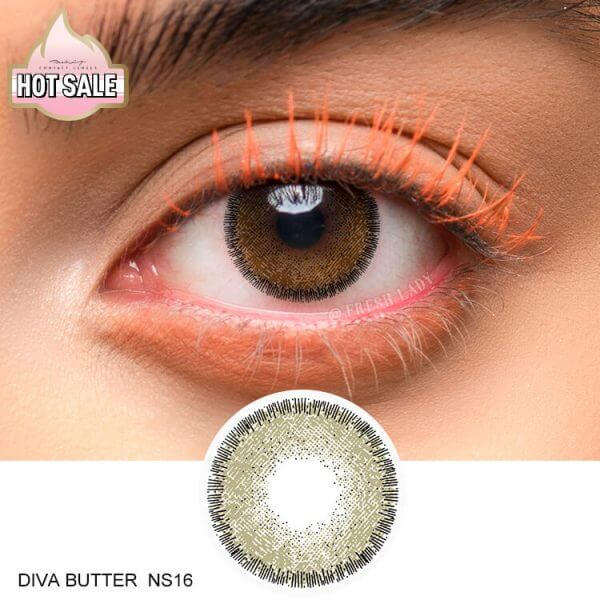 contact lens colored