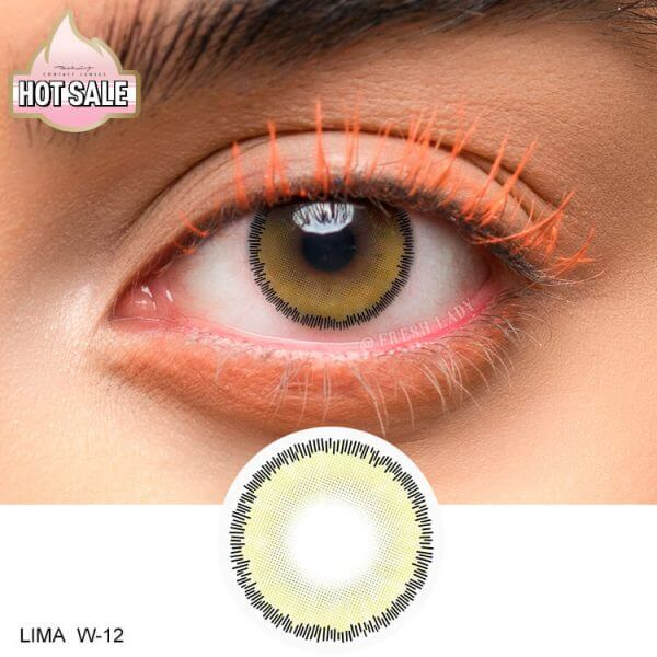 lenses colored eye