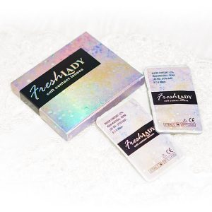 Freshlady contact lenses package