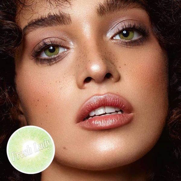 Queen green contact lenses BL-7