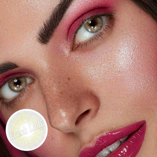 Queen grey contact lenses BL-9