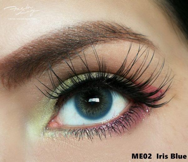 OEM Iris Blue ME02 Contact Lenses