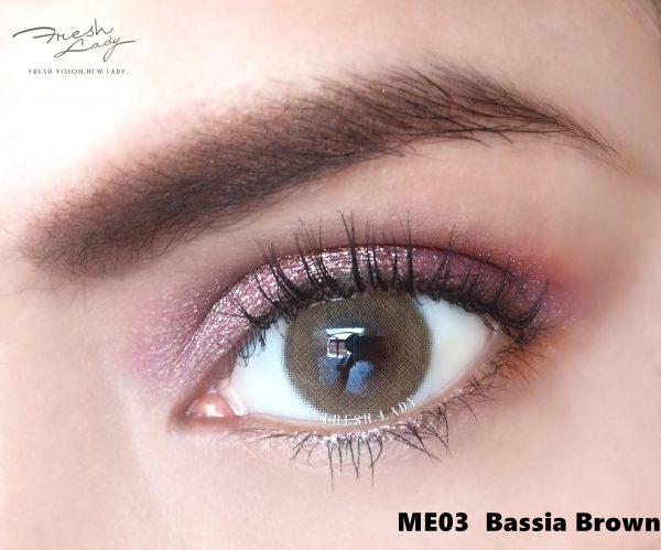 Freshlady Bassia Brown ME03 Contact Lenses