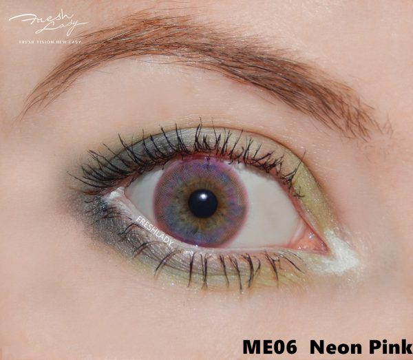 Freshlady Neon Pink ME06 contact lens
