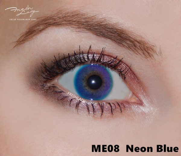 bulk order rainbow Neon Blue ME08 contact lens