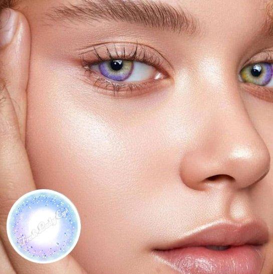 Freshlady rainbow colored contact lenses