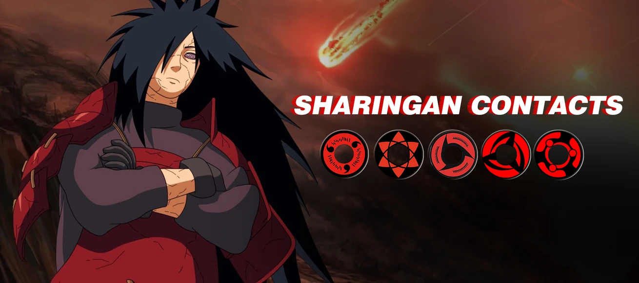 SHARINGAN EYE CONTACTS