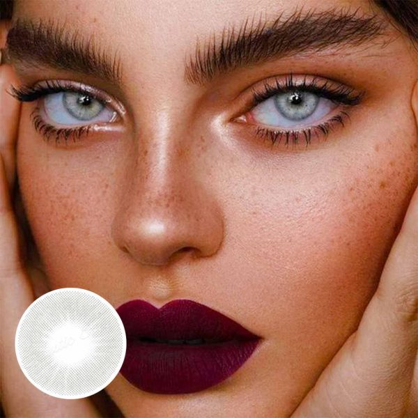 W-13 color contact lense