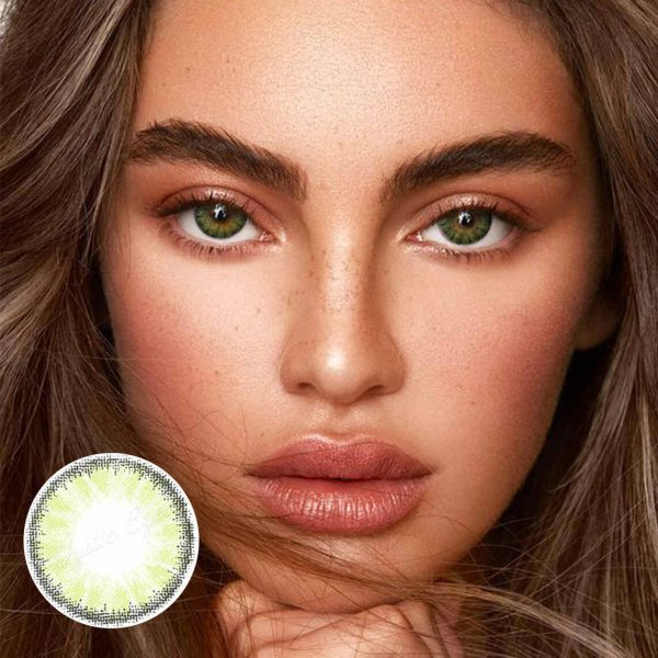 Freshlady Crystal Green Y01 Circle Colored Contact Lenses