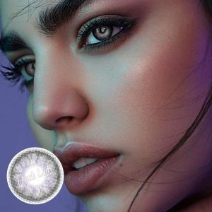 Opal grey contact lenses ME51