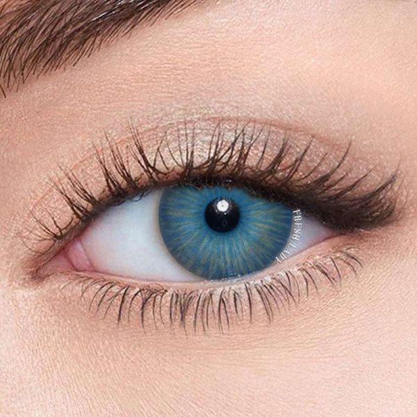 New York BLUE Natural Colored Contact Lenses (1)