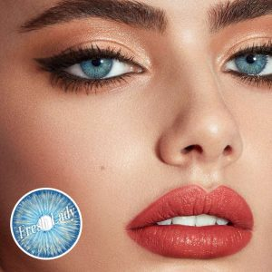 New York BLUE Natural Colored Contact Lenses