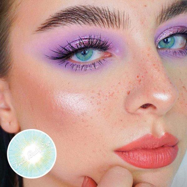 Sky blue eye contact lens Mo-03