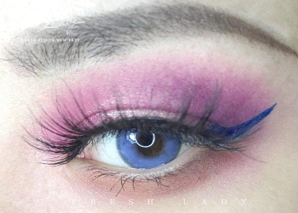 OEM Sorayama blue contact lenses ME65