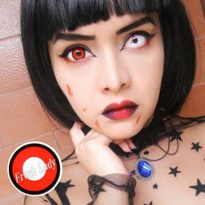 Red vampire crazy lens D45-6
