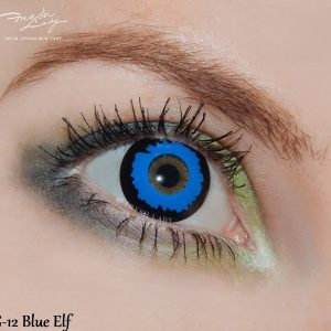 Pixie Blue Elf crazy lens G12