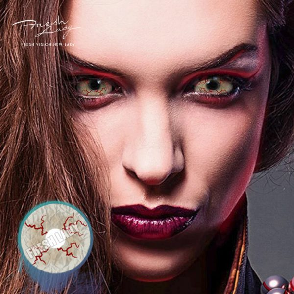 Halloween 22mm DA10 Bloodstained Sclera Contact Lenses