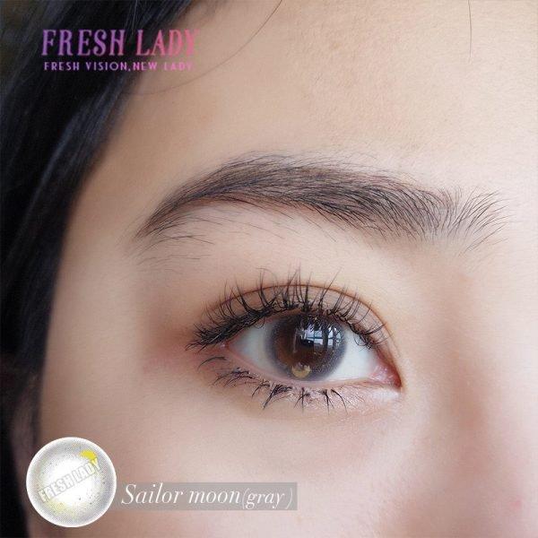 Sailor moon gray contact lenses JF09