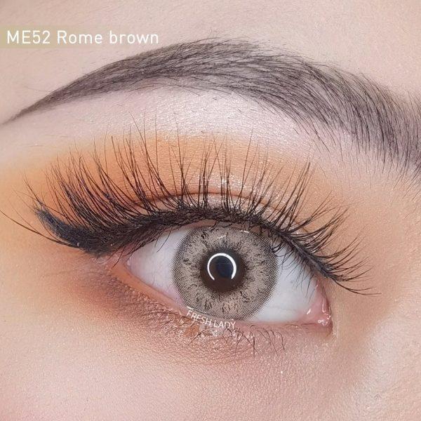 Freshlady Rome brown contact lenses ME52