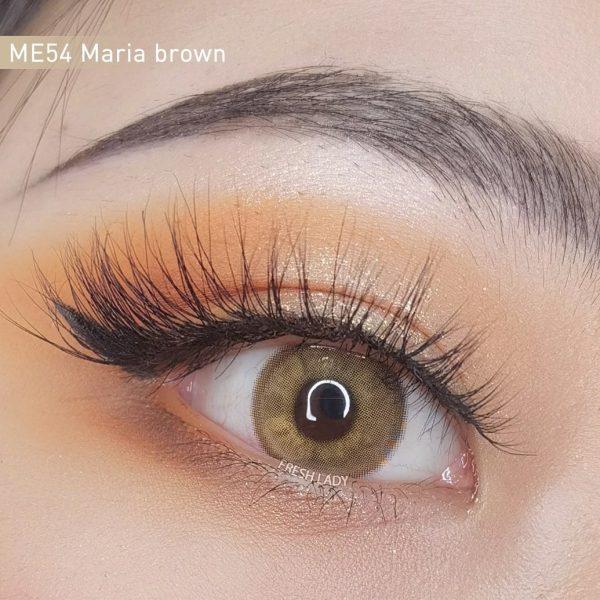 Freshlady Maria brown contact lens ME54