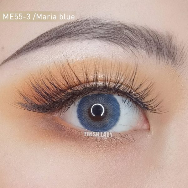 Freshlady Maria blue contact lens ME55-3