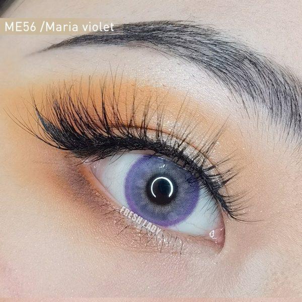 Freshlady Maria violet contact lenses ME56