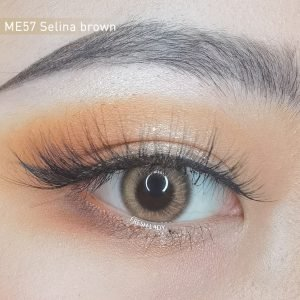 Freshlady ME57 Selina brown contact lenses