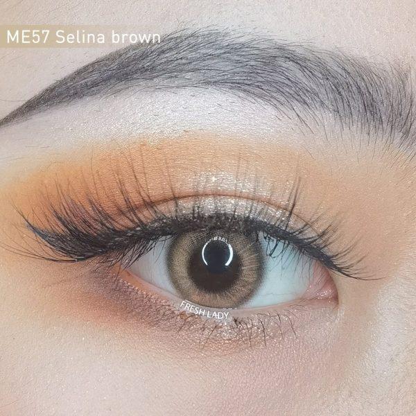 Freshlady ME57 Selina brown contact lenses
