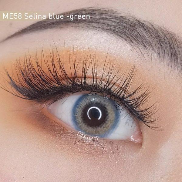 Freshlady ME58 Selina blue-green contact lens