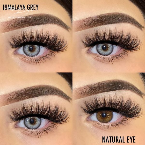 Freshlady ME62 Himalaya grey contact lenses