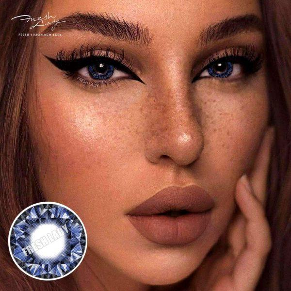 Wholesale Diamonds Blue QA16 Contact Lens