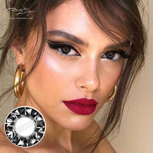 Wholesale Diamonds Black QA19 Contact Lens