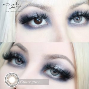 wholesale glitter gray color contact lenses JF01