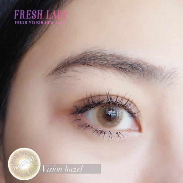 Wholesale Vision hazel colored contact lenses JF13