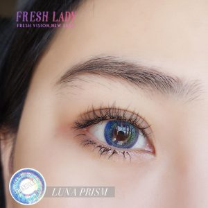 OEM/Private Label Luna Prism Blue Colored Contact Lens ME67