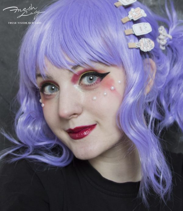 OEM BEESWAX PONY GRAY Colored Contact Lenses NS6