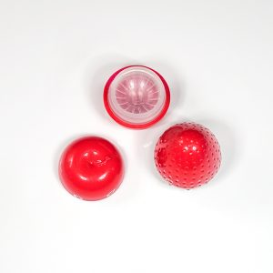 Apple Strawberry Fruit Contact Lenses Case