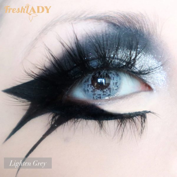 wholesale Blinking Lighten Grey crazy contact lens D61-5