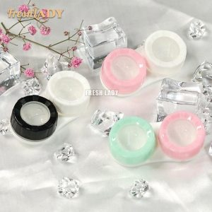 Macaron Double Box Contact Lens Case