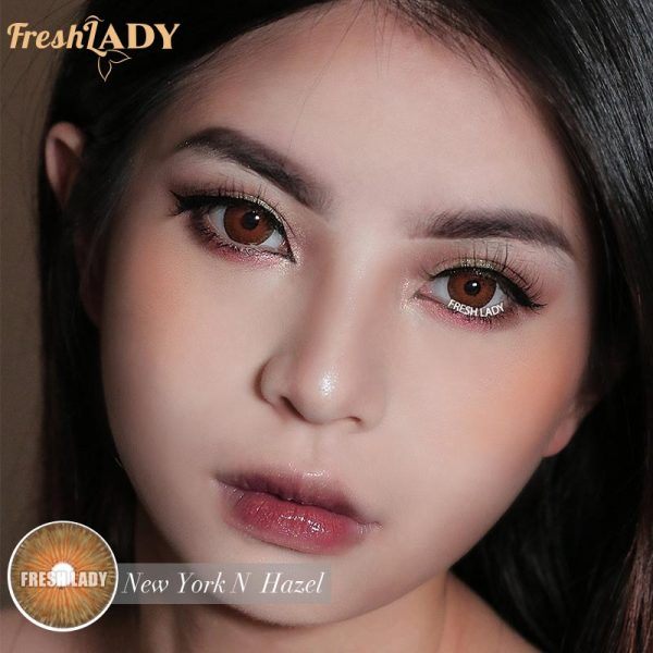 Private Label Hot Sell NMi-6 New York N Hazel Contact Lens